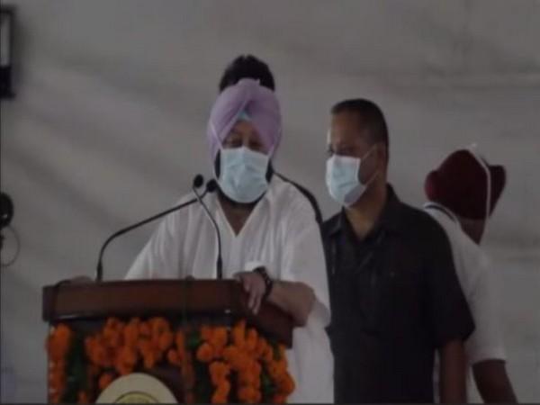 Punjab CM Captain Amarinder Singh (Photo/ANI)