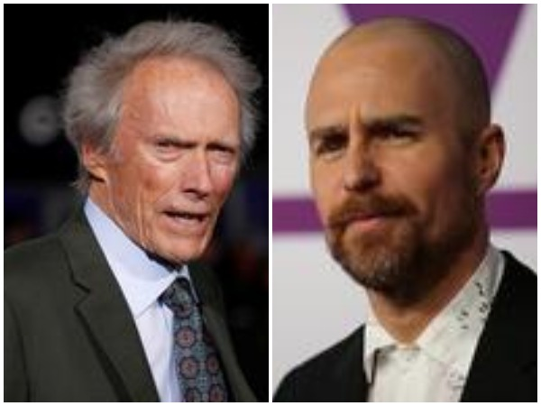 Clint Eastwood and Sam Rockwell
