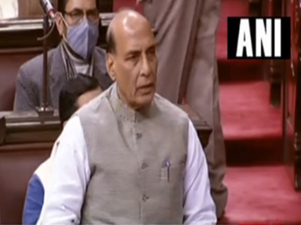Defence Minister Rajnath Singh speaking on the present situation in Eastern Ladakh' in the Rajya Sabha.