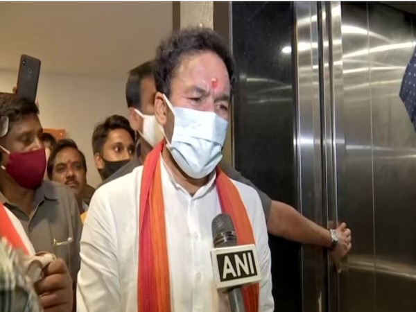 Minister of State for Home Affairs, G Kishan Reddy. (Photo/ANI)