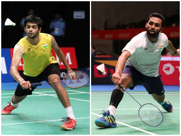 B. Sai Praneeth (left), Prannoy Kumar (right)