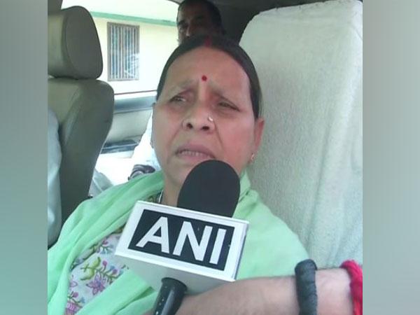 RJD leader Rabri Devi (File photo/ANI)