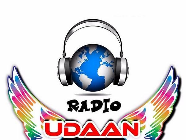 Radio Udaan's logo.