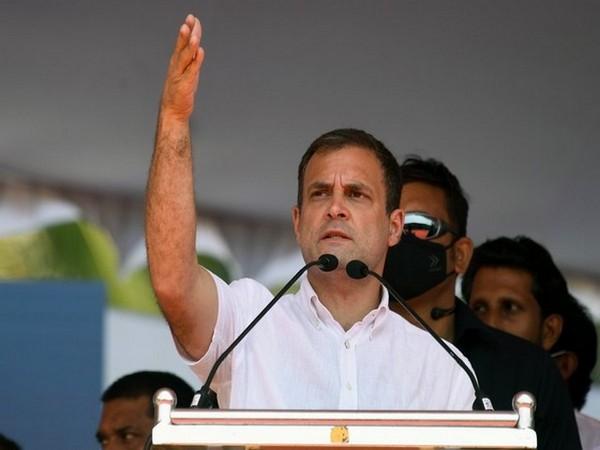 Congress ledaer Rahul Gandhi