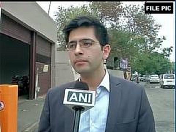 Delhi Jal Board  Vice-Chairman Raghav Chadha (File Photo)