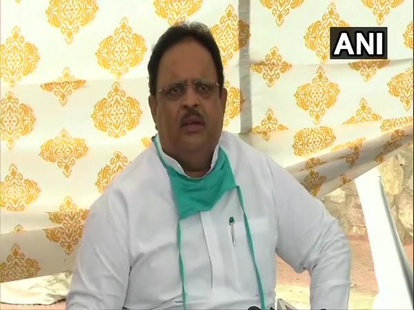 Rajasthan Health Minister Dr Raghu Sharma [Photo/ANI]