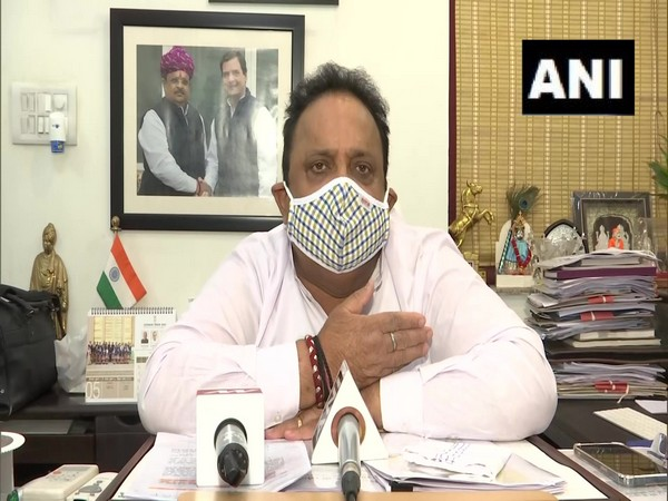 Rajasthan Health Minister Raghu Sharma. (Photo/ ANI)