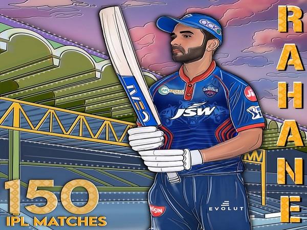 Delhi Capitals batsman Ajinkya Rahane (Image: Delhi Capitals)