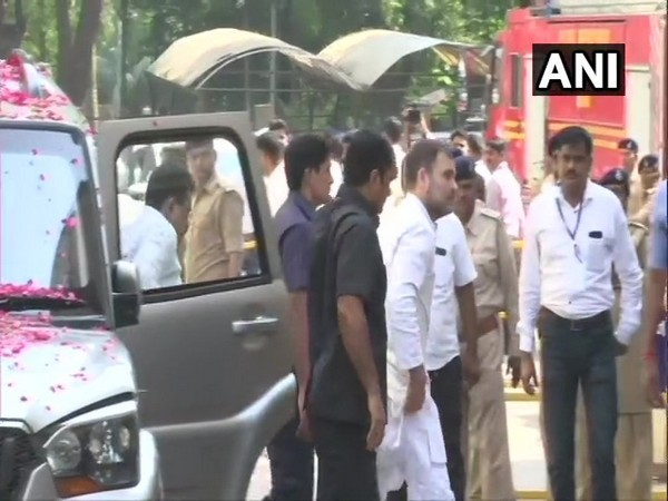 Rahul Gandhi appeared at Surat Court in connection with Modi surname defamation case [Photo/ANI]