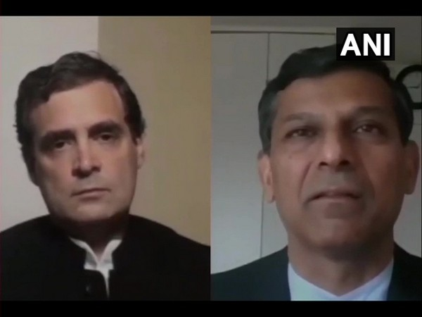 Visual from Rahul Gandhi's interaction with Raghuram Rajan