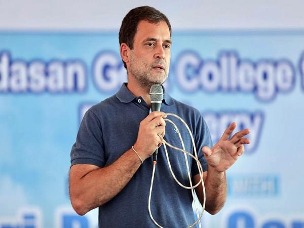 Congress leaders Rahul Gandhi (File Photo/ANI)