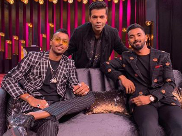 India cricketers KL Rahul and Hardik Pandya