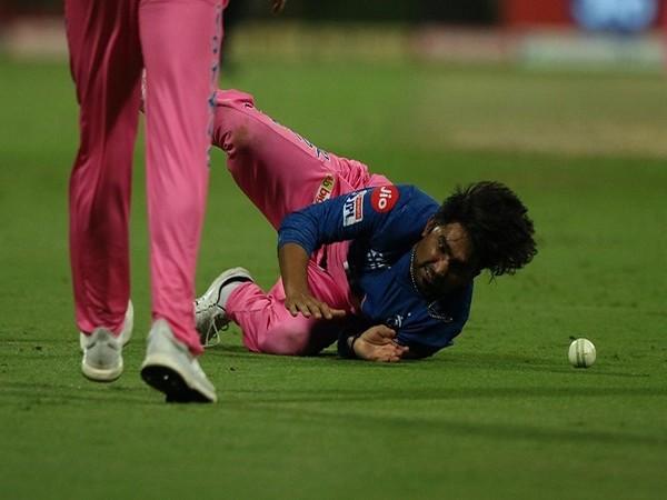 Rajasthan Royals all-rounder Rahul Tewatia (Image: BCCI/IPL)