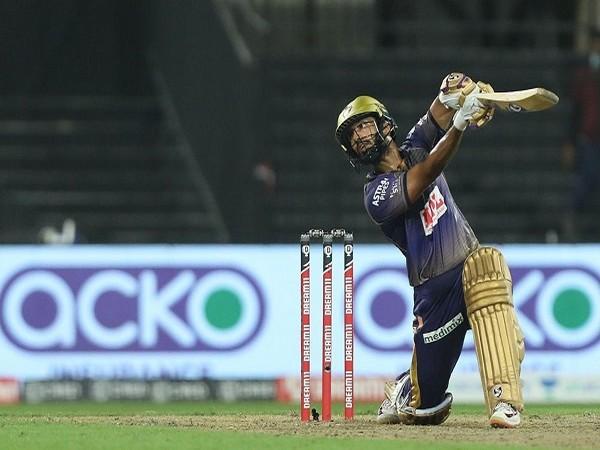 KKR batsman Rahul Tripathi (Image: BCCI/IPL)