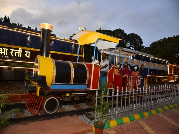 A visual from the Railway Museum at Hubballi.