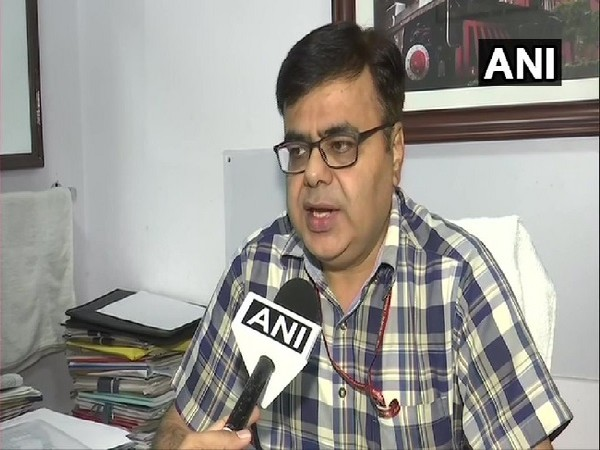 Director of Railway Board Rajesh Dutt Bajpayee speaking to ANI on Thursday.