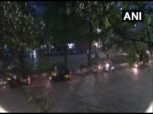 Heavy rains in Pune, Maharashtra on Wednesday.