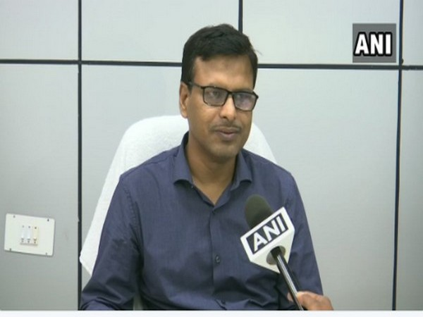 H. R. Biswas, Director of Bhubhneshwar Metreological Department on Saturday. Photo/ANI