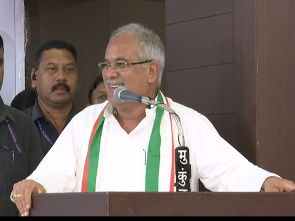 Chhattisgarh Chief Minister Bhupesh Baghel (File Photo/ANI)