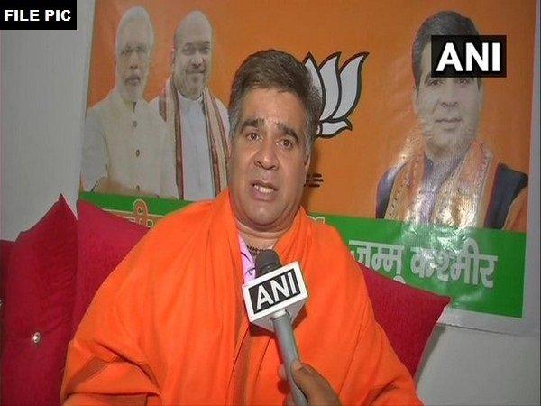 Jammu and Kashmir BJP President Ravinder Raina. File photo/ANI
