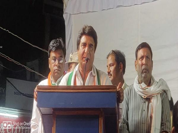 Congress leader Raj Babbar
