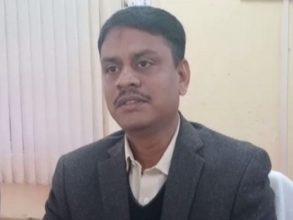 DM Sonbhadra, Rajalingam talking to ANI on Friday