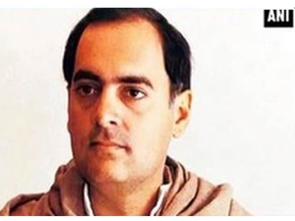 Former prime minister Rajiv Gandhi (File photo)