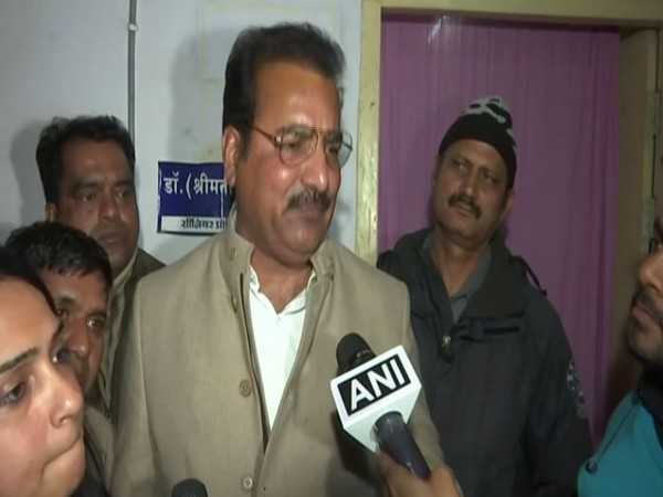 Pratap Singh speaking to ANI in Kota on Friday. Photo/ANI