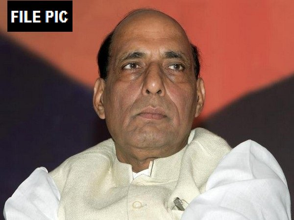 File Pic Defence Minister Rajnath Singh