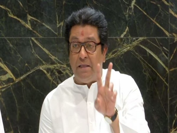 MNS chief Raj Thackeray addressing press-conference in Pune on Saturday
