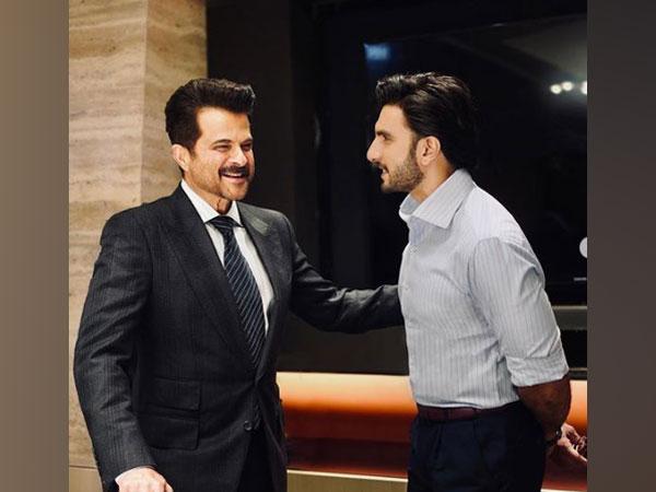 Anil Kapoor and Ranveer Singh (Image courtesy: Instagram)