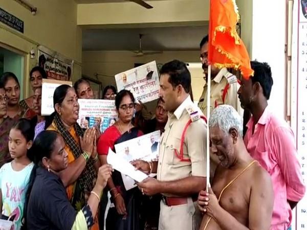 Missing case for MLA Undavalli Sridevi filed in Amaravati. Photo/ANI