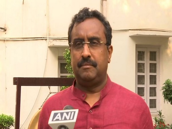BJP general secretary Ram Madhav speaking to ANI in New Delhi on Thursday.