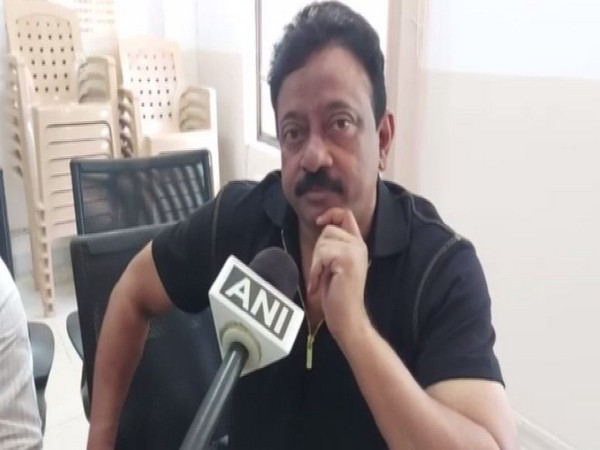 Film Director Ram Gopal Varma at the RGI Airport Police Station