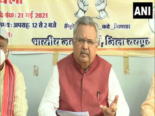 BJP National Vice President Raman Singh. (Photo/ ANI)