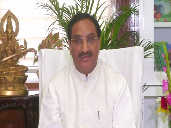 Union Human Resources Minister Ramesh Pokhriyal 'Nishank'