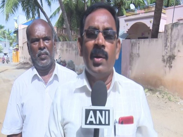 Sea Workers Association State Secretary, C R Senthilvel. Photo/ANI
