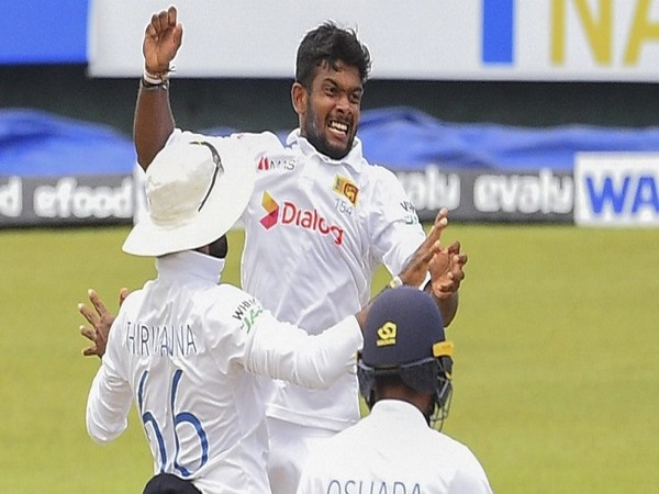 Sri Lanka needs five wickets to win the second Test on day five (Image: ICC)