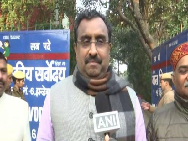 Ram Madhav speaking to ANI in New Delhi.