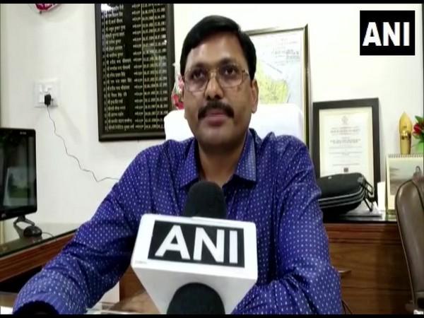 Rampur DM Aunjaneya Kumar talking to ANI in Rampur on Thursday