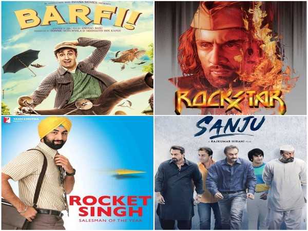 Posters of Ranbir Kapoor's films