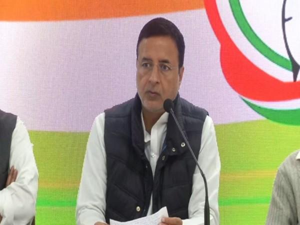 Congress spokesperson Randeep Surjewala. (File Photo/ANI)
