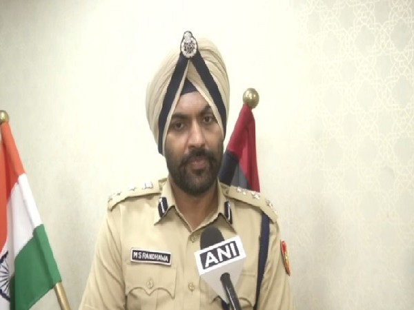 DCP Central Delhi MS Randhawa speaking to ANI in New Delhi on Thursday. Photo/ANI
