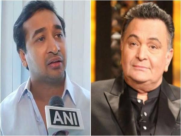Nitesh Narayan Rane and Rishi Kapoor