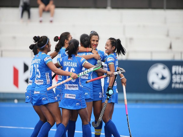Indian women's hockey team defeated hosts Japan 2-1 in the final at the Olympic Test Event in Tokyo to win the competition. (Photo/Hockey India Twitter)