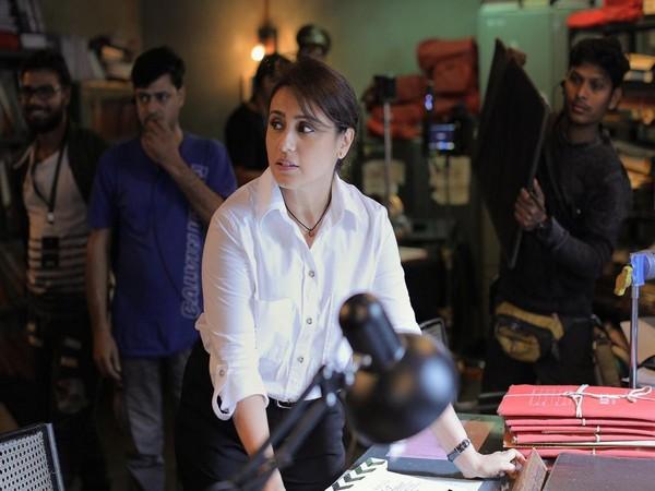 Rani Mukerji's first look from 'Mardaani 2', Image courtesy: Twitter
