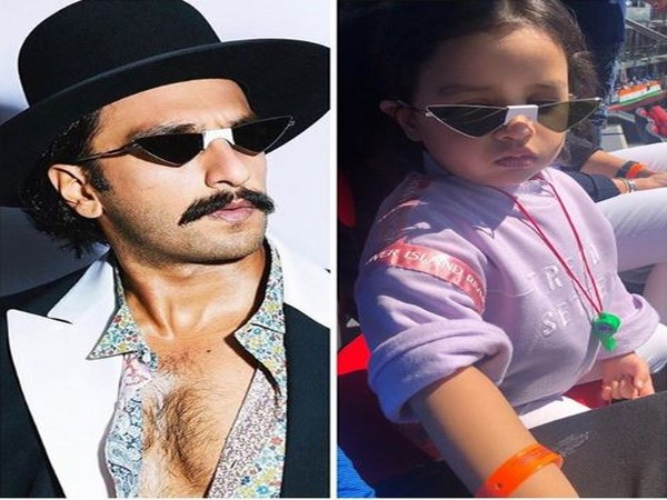 Ranveer Singh and Ziva Singh Dhoni (Image courtesy: Instagram)