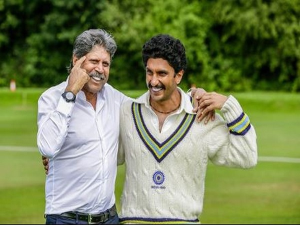 Ranveer Singh wishes Kapil Dev on his birthday by sharing pictures from sets of '83'