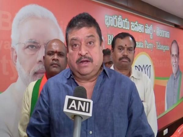 Ramchander Rao, tallking to ANI at Hyderabad on Wednesday