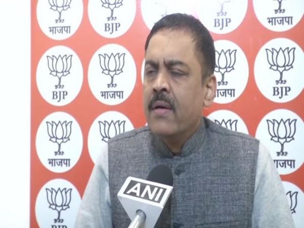 BJP leader GVL Narasimha Rao talking to ANI in New Delhi on Monday (Photo/ANI)